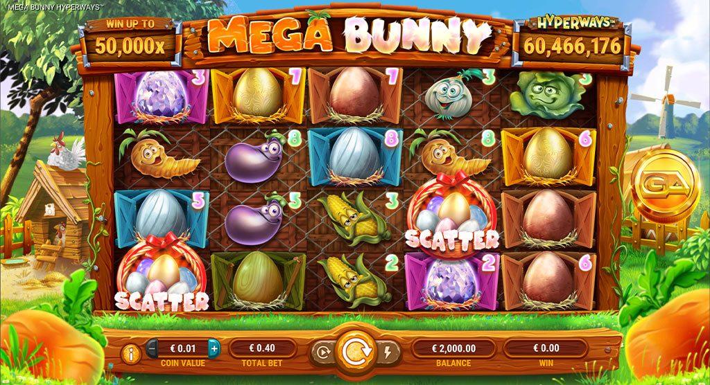 สล็อตออนไลน์ Mega Bunny Hyperways